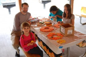 Fall picnic at Tanglewood